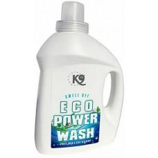 K9 ECO POWER WASH - ПЕРИЛЕН ПРЕПАРАТ, елиминира лошите миризми в дълбочина и прави дрехите чисти и свежи, като ефективно разгражда молекулите на неприятните миризми - 1 литър - Швеция 40-4710