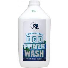 K9 ECO POWER WASH - ПЕРИЛЕН ПРЕПАРАТ, елиминира лошите миризми в дълбочина и прави дрехите чисти и свежи, като ефективно разгражда молекулите на неприятните миризми - 2,7 литъра - Швеция 40-4727