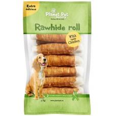Planet Pet Chicken chew roll - деликатесно лакомство 18 см. / 15 броя / 1000 грама
