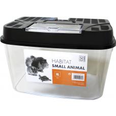 M-Pets Плексигласов терариум с капак, за влечуги и малки животни, размер L 28x18x18 см, Белгия 40402308