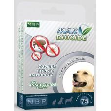 Натурална противопаразитна каишка за куче с гераниол - 75 см