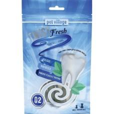 Twist Fresh Dual Dental Twist - Дентално лакомство Спирали, за малки и средни породи кучета - 100 гр - Италия 52.1.2
