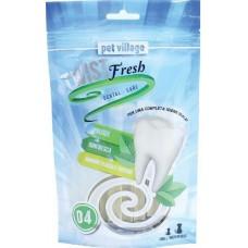 Twist Fresh Dental Stick - Дентално лакомство Ленти, за малки и средни породи кучета - 100 гр - Италия 52.1.4