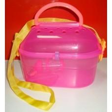 Пластмасова чанта за пренос на гризачи с поилка 27х16х19 см 520134-01
