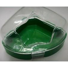 Съд за тоалетна за гризачи, пластмаса, 14,5х11х9 см 540151