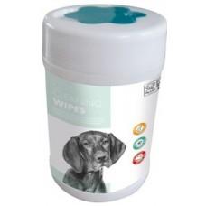 M-Pets Cleaning Wipes - Мокри кърпички за очи, уши, лапи - 18 x 20,5 cm - 80 бр 60100701