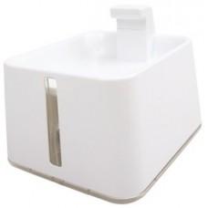 M-Pets Indus Drinking Fountain - електрическа поилка тип  - фонтан с карбонов филтър, 20,5 x 23,5 x 18 cm - 2400 ml - 60564799