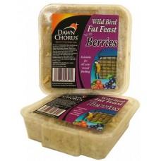 Dawn Chorus fat feast berry - Високоенергиен блок за диви птици от семена с горски плодове - 6289