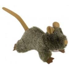 Играчка за котка плюшени животни с котешка трева - мишка 10 см NOBBY Германия 66931