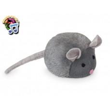Играчка Плюшена мишка със звук 15см NOBBY Германия 67410