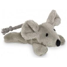 Играчка за котка плюшени животни с котешка трева и звук - мишка 9 см NOBBY Германия 67461