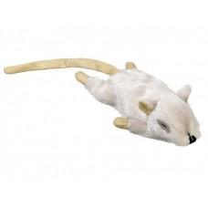 Играчка за котка плюшена мишка с привличаща билка светло кафява 14 см NOBBY Германия 67564