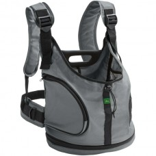 HUNTER Backpack Kangaroo darkgrey - раница за домашни любимци - сива, 30x20x30 см, Германия 67686