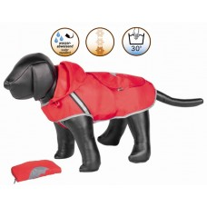 Кучешка дреха RAINY Nobby - Дъждобран, червена - дължина на гърба 26 см, Германия - 68440