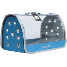 DUBEX OPEN FLY - Чанта за домашни любимци, 42 x 26 x 26 см - светло синя, Турция - 71305