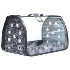 DUBEX OPEN FLY - Чанта за домашни любимци, 42 x 26 x 26 см - камуфлаж, Турция - 71306