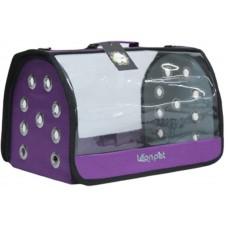 DUBEX OPEN FLY - Чанта за домашни любимци, 42 x 26 x 26 см - лилава, Турция - 71313