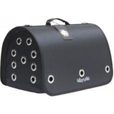 DUBEX CLOSED FLY - Чанта за домашни любимци, 42 x 26 x 26 см - черна, Турция - 71315