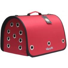 DUBEX CLOSED FLY - Чанта за домашни любимци, 42 x 26 x 26 см - червена, Турция - 71316