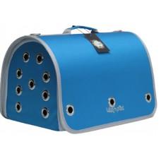 DUBEX CLOSED FLY - Чанта за домашни любимци, 42 x 26 x 26 см - светло синя, Турция - 71317