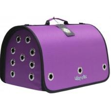 DUBEX CLOSED FLY - Чанта за домашни любимци, 42 x 26 x 26 см - лилава, Турция - 71318