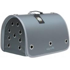 DUBEX CLOSED FLY - Чанта за домашни любимци, 42 x 26 x 26 см - сива, Турция - 71319