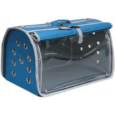 DUBEX BIG FLY - Чанта за домашни любимци, 48 x 28 x 32 см - светло синя, Турция - 71341