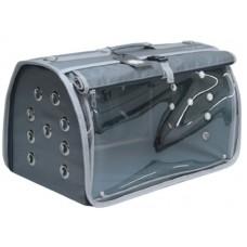 DUBEX BIG FLY - Чанта за домашни любимци, 48 x 28 x 32 см - сива, Турция - 71342