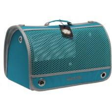 DUBEX AIR BOX - Чанта за домашни любимци, 48 x 28 x 32 см - светло синя, Турция - 71350