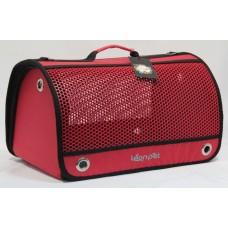 DUBEX AIR BOX - Чанта за домашни любимци, 48 x 28 x 32 см - червена, Турция - 71353