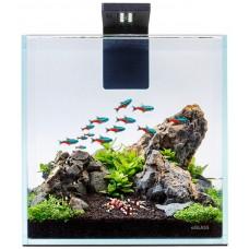 Collar Aquarium Set Nano Set - аквариум с пълно оборудване 22х22х22 см - 10 литра за Бети, малки риби, скариди