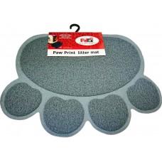 Petex print litter mat gray color - Подложка за почистване на лапи за котешка тоалетна