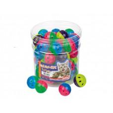 Играчка за котка топка цветна 4 см NOBBY Германия 71908