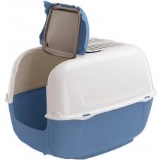 Ferplast Prima Cabrio - закрита котешка тоалетна с филтър 52,5 х 39,5 х 38 cm