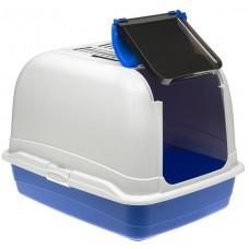Ferplast Maxi Bella Cabrio - закрита котешка тоалетна с филтър 50 х 65.5 х 47 см