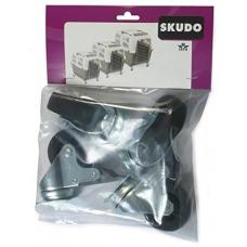 Комплект колела за транспортни чанти Skudo 4, 5, 6 и 7 - 4 бр NOBBY Германия 72130
