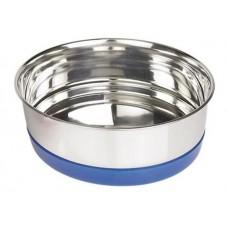 Съд за храна или вода с пластмасов пръстен RINGI син 17 см 0,85 лит NOBBY Германия 73457