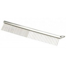 Oster Grooming comb 18см medium / coarse - Метален гребен широки / средно тесни зъбци 18см
