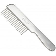 Oster Grooming comb coarse with handle - Метален гребен широки зъбци с дръжка 78928140000