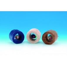 Играчка плюшен тунел с мишка 7 x 9 см три цвята NOBBY Германия 80075