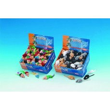 Играчка Мишки разноцветни с перца 6 см NOBBY Германия 80111