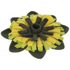 Kerbl Snuffle Mat Sunflower - килимче за лакомства цвете, 40 см, Германия - 80747