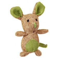 Играчка за котки Kerbl Mouse Nature - Натурална Мишка 7х9,5 см - Kerbl Германия 81641