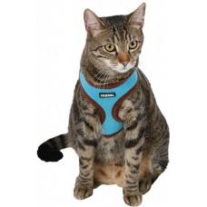 Kerbl Нагръдник и повод за котка, син - 82645
