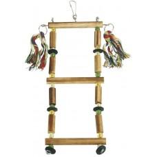 Kerbl Стълба от дървени тръбички за птици 35х10 см - Германия 82948