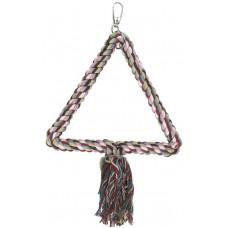 Kerbl Люлка за папагали памучно въже триъгълник 30 см - Германия 83106