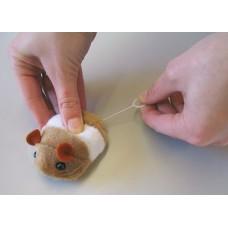 Играчка за котки Kerbl Fluffy Tremble Toys - вибрираща плюшена играчка 7см - Kerbl Германия 83224