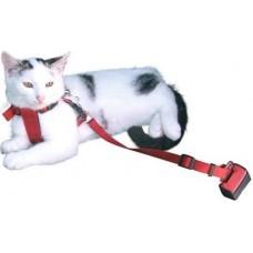Kerbl Car Cat Harness - Нагръдник с предпазен колан за кола за Котки - 83257