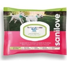 Sanilove Wipe Aloe Vera Nature Fun - хигиенизиращи мокри кърпички с Алое Вера 40 броя