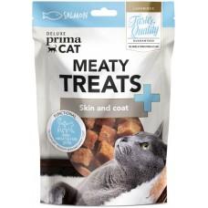 Prima Cat Deluxe Meaty Treats Scin Coat - месни лакомства за здрава кожа и лъскава козина 30 гр